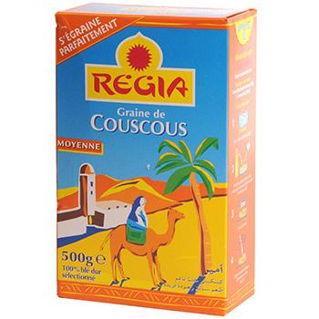 Graine de couscous moyen Regia (500 g)