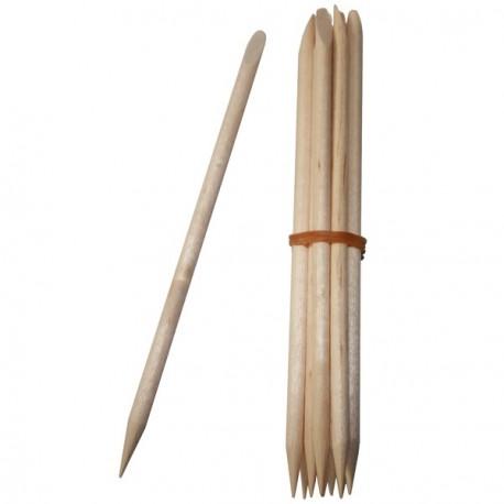 Repousse cuticules en bois, Avril (x 10)