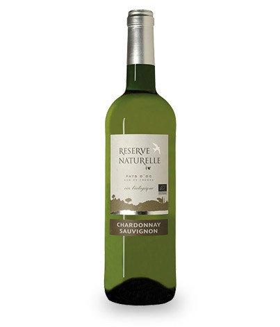 Chardonnay Sauvignon Blanc BIO, Réserve naturelle 2015 (75 cl)