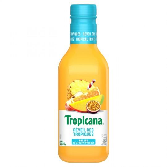 Jus réveil des tropiques frais, Tropicana (900 ml)