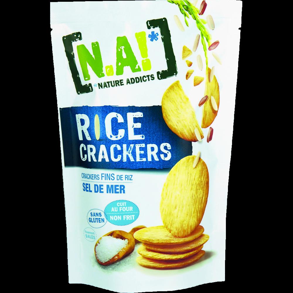 Rice crackers au sel de mer, N.A (70 g)