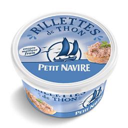 Rillettes de thon, Petit navire (125 g)