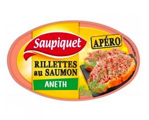 Rillettes au saumon à l'aneth, Saupiquet (115 g)