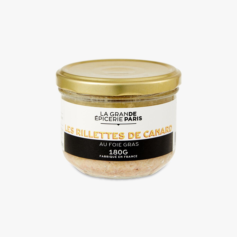 Rillettes de canard au foie gras, La Grande Epicerie de Paris (180 g)