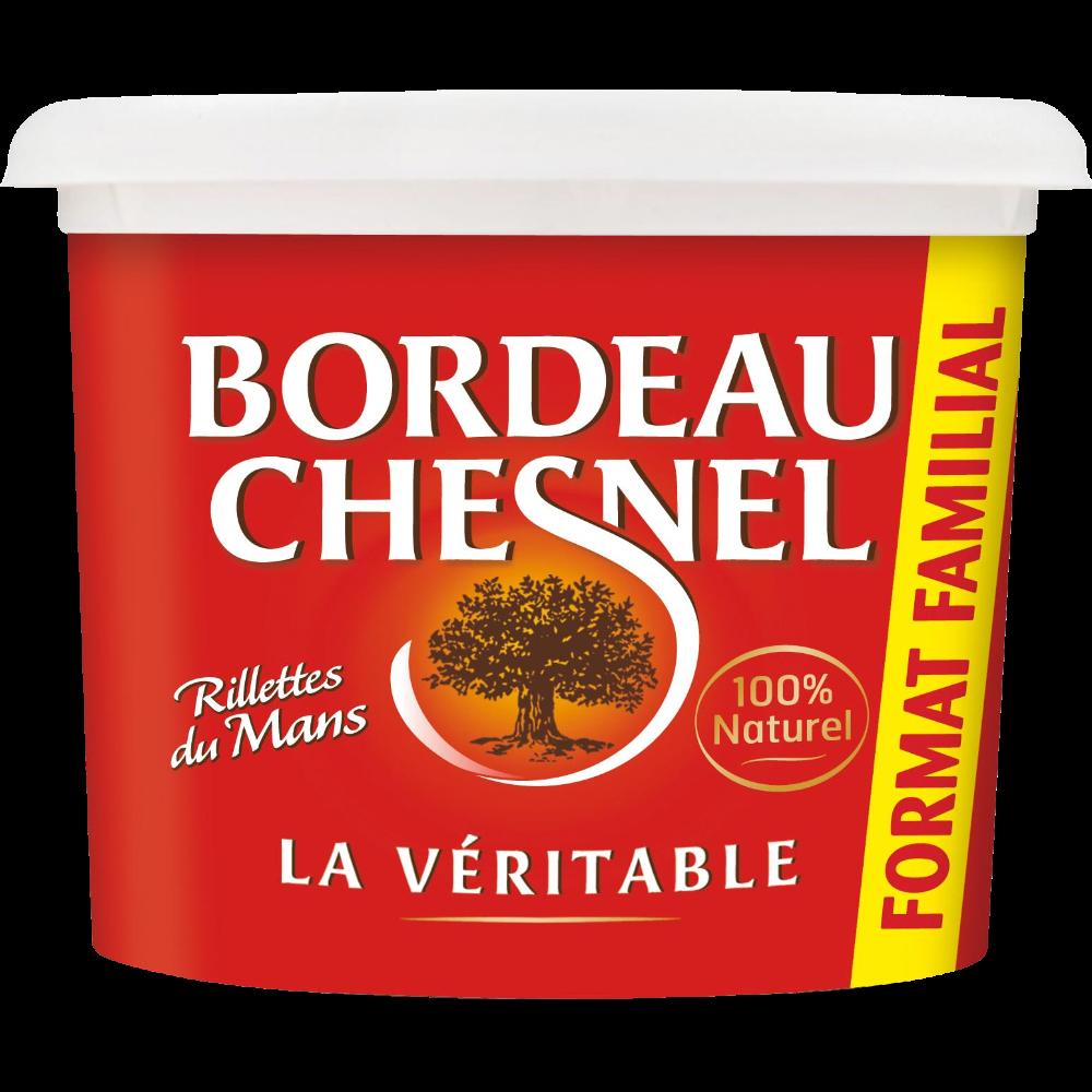 Rillettes du Mans pur porc, Bordeau Chesnel (400 g)