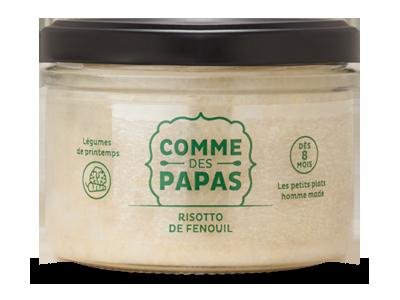Risotto de fenouil BIO - 8 mois, Comme des Papas (180 g)