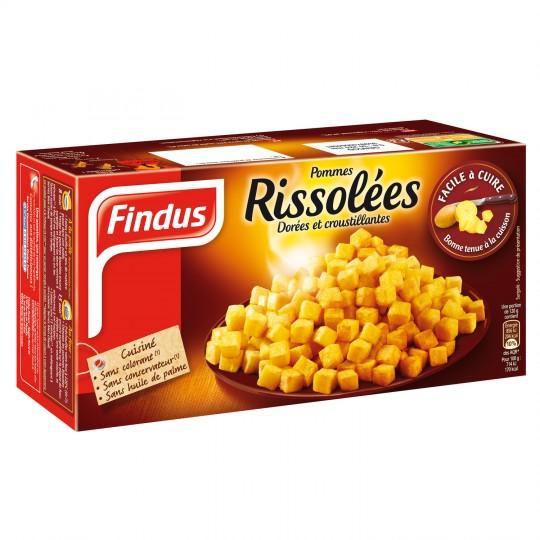 Pommes rissolées, Findus (500 g)