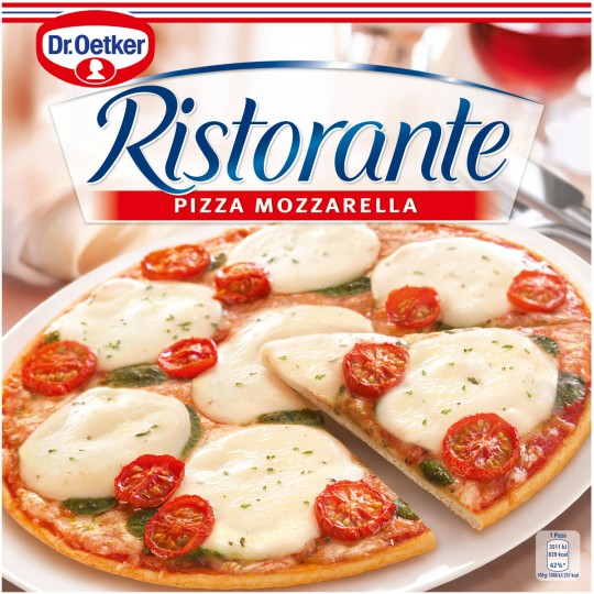 Pizza Ristorante Mozzarella, Dr Oetker Surgelé (335 g)
