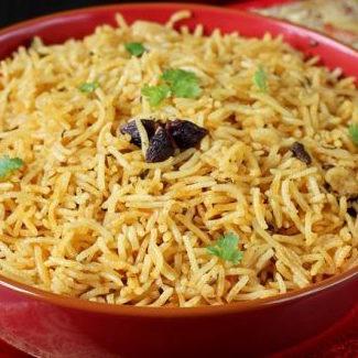 Riz biryani (300 g, pour 1 ou 2 personnes)