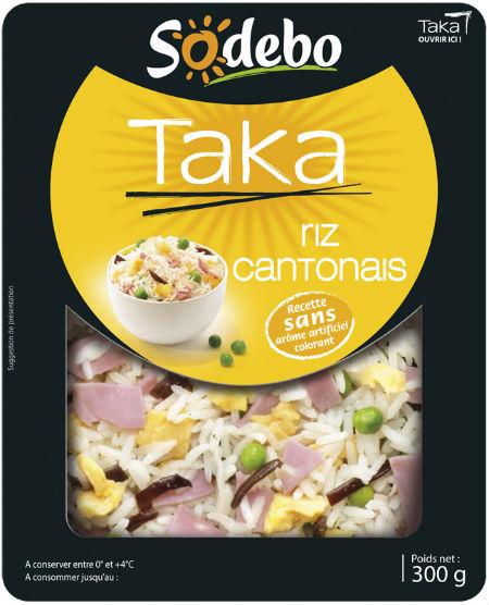 Riz cantonais taka, Sodebo (300 g)