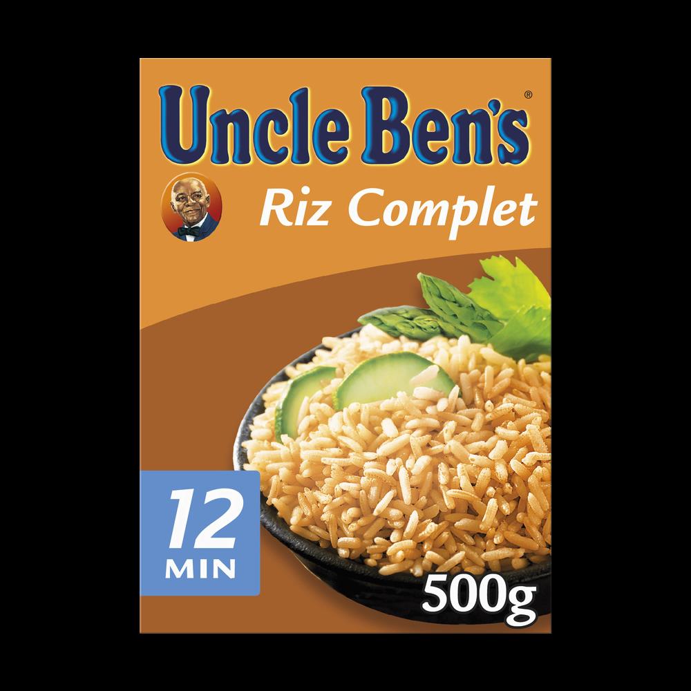 Riz complet cuisson 10 min, Uncle Ben's (500 g)