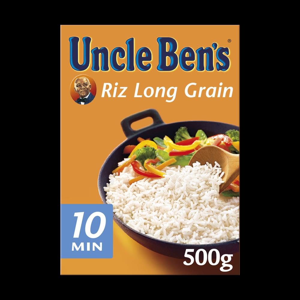 Riz long grain cuisson 10 min, Uncle Ben's (500 g)