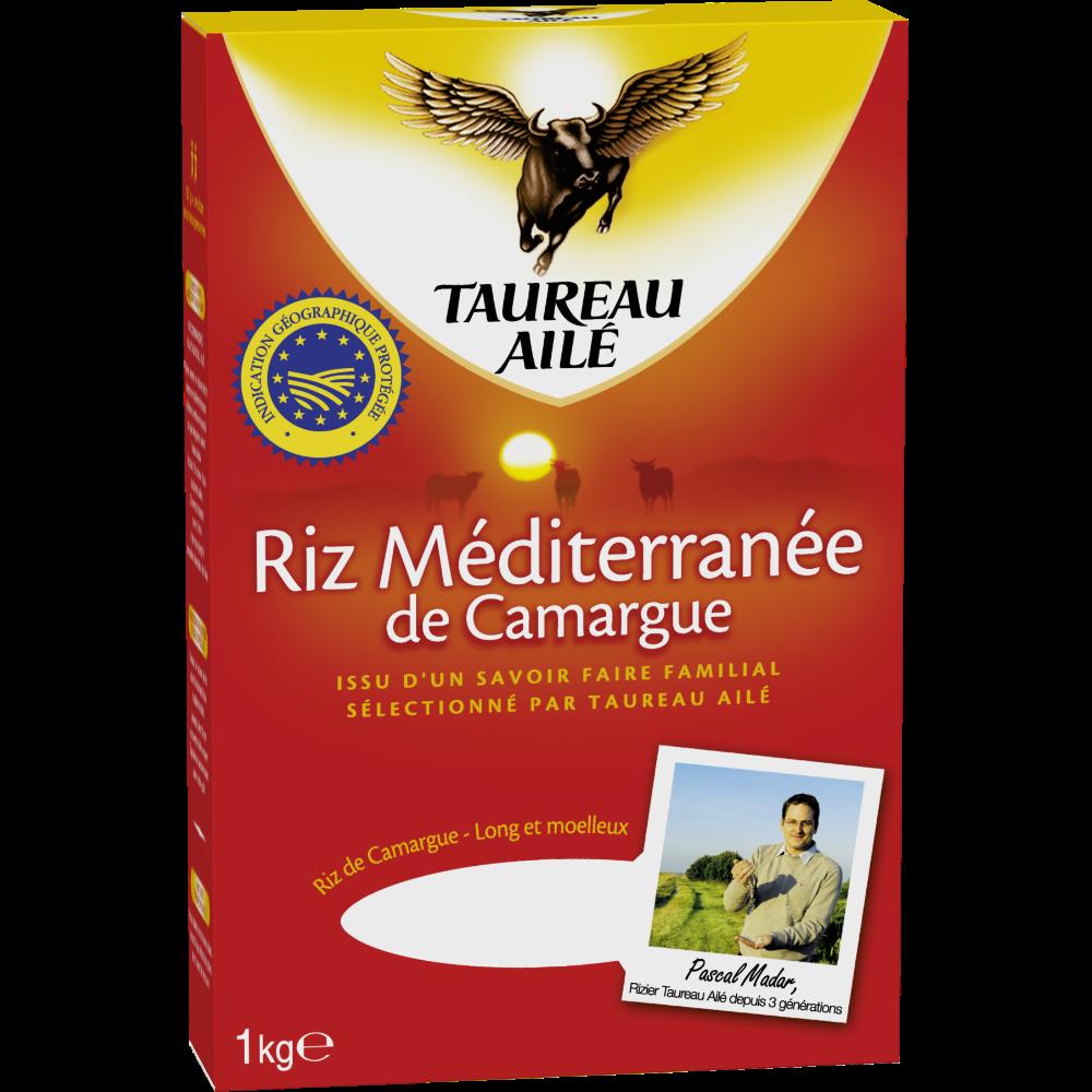 Riz long IGP méditerranée, Taureau Ailé (1 kg)