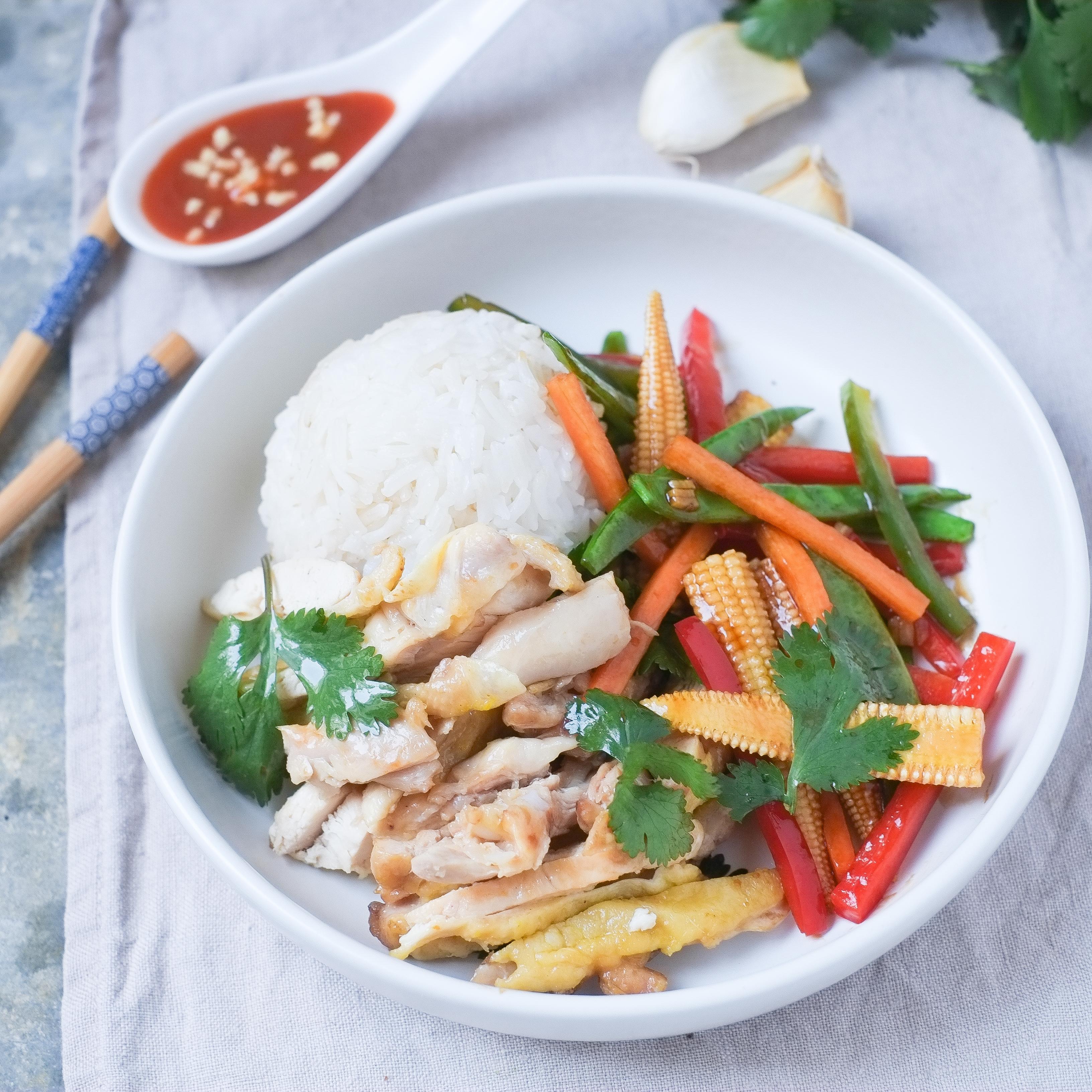 Poulet Hainanese