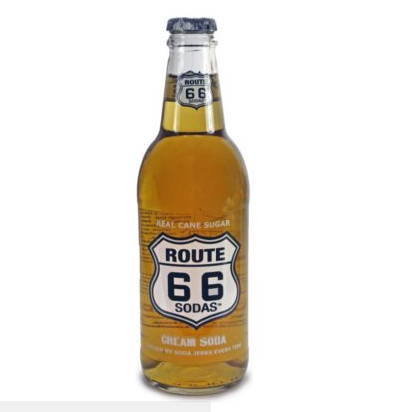 Route 66, Soda Cream (35.5 cl)