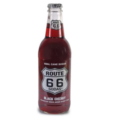 Route 66, Soda Black Cherry (35,5 cl)