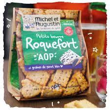Petit Beurre roquefort AOP & graines de pavot, Michel et Augustin (100 g)