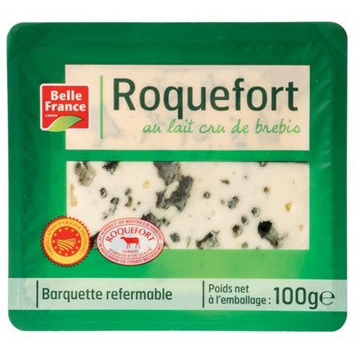 Roquefort en tranche, Belle France (100 g)