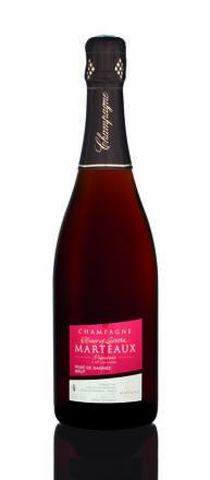 Champagne Rosé de Saignée, Olivier et Laetitia Marteaux (75 cl)