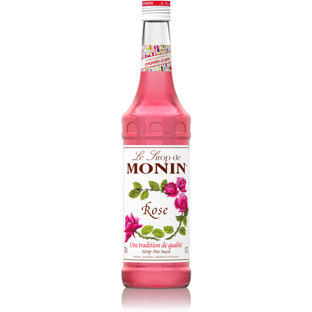 Sirop de rose Monin (70 cl)
