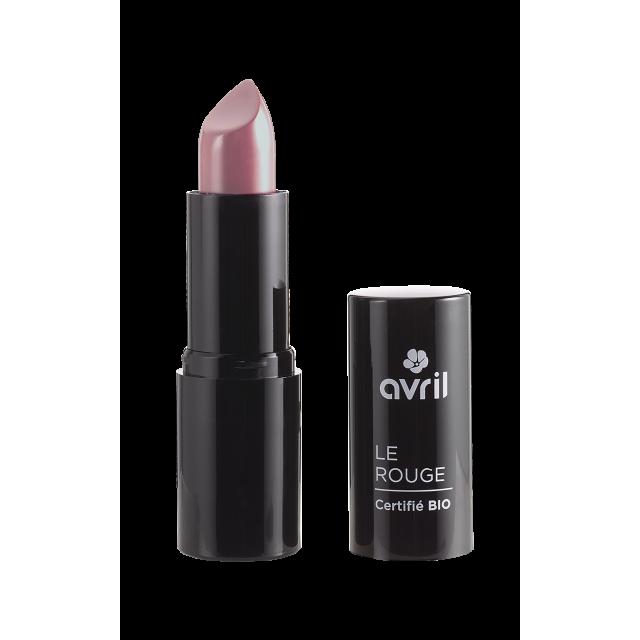 Rouge à lèvres rose poupée n°460 certifié BIO, Avril
