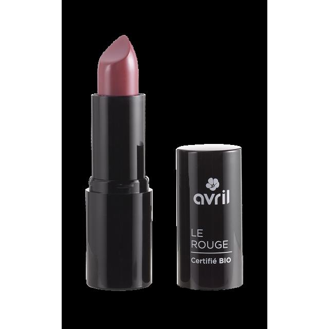 Rouge à lèvres rose vintage n°463 certifié BIO, Avril