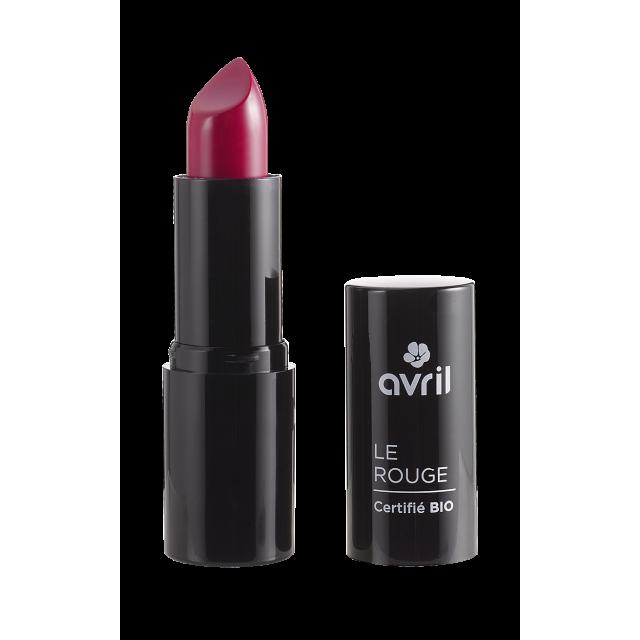 Rouge à lèvres rouge sang n°636 certifié BIO, Avril
