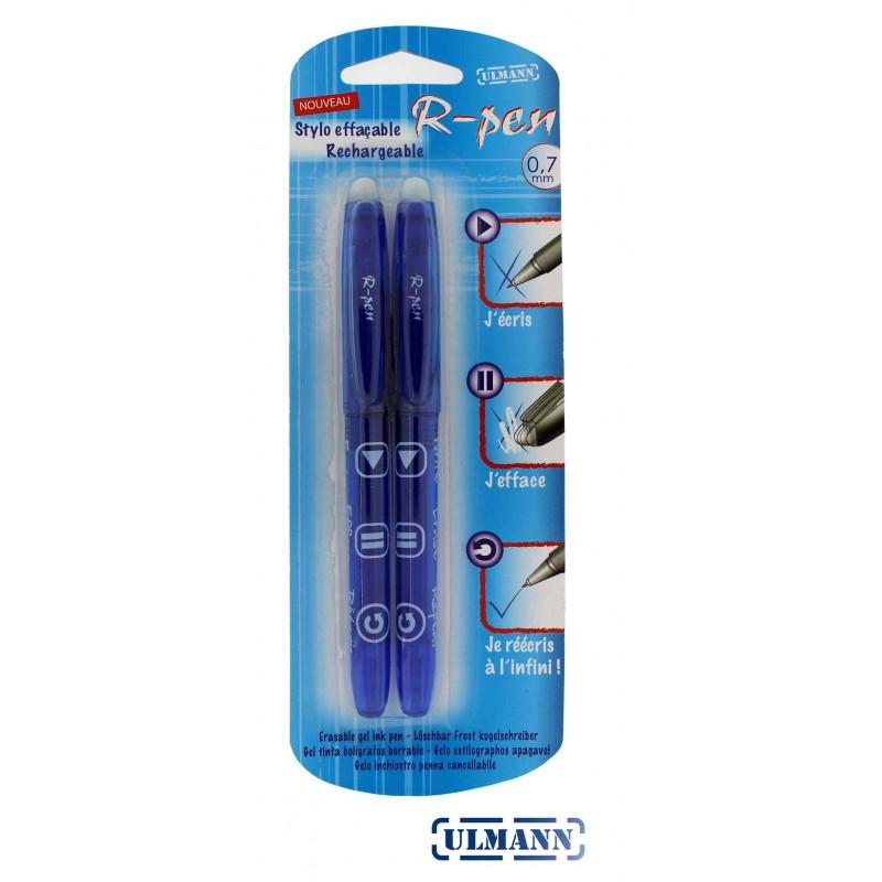 Stylos bleus R'Pen ULMANN (x 2)