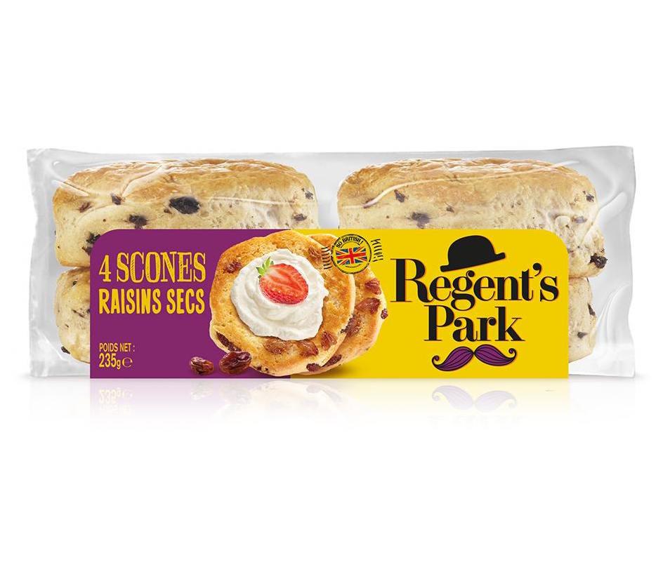 Scones aux raisins, Regent's Park (235 g)