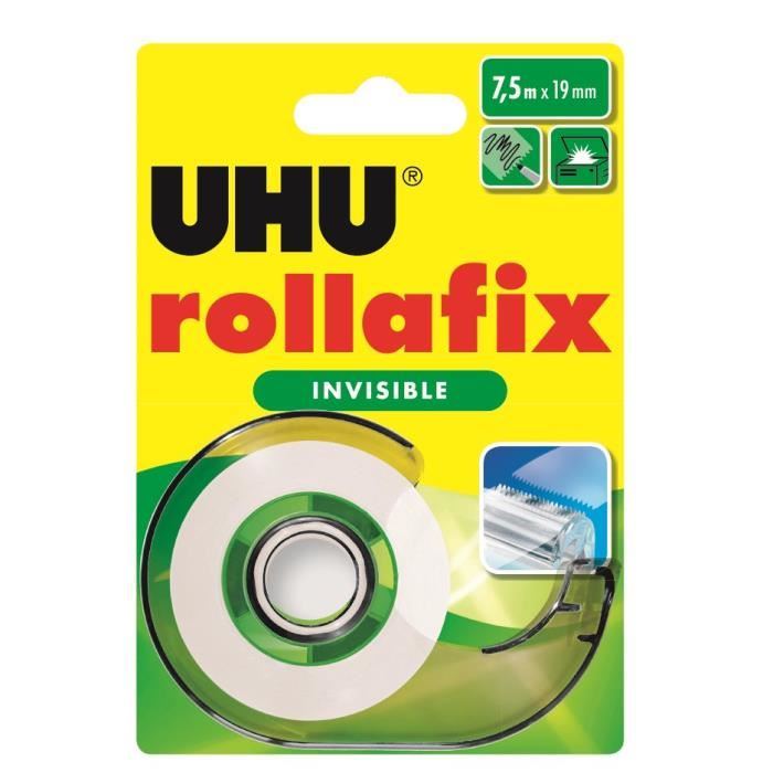 Scotch rollafix invisible, UHU
