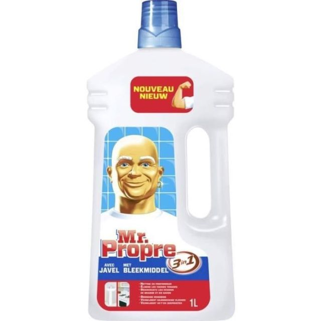 Nettoyant liquide javel dilué multi-usages, Mr Propre (1 L)