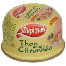Thon Sauce Citronnée, Saupiquet (270 g)
