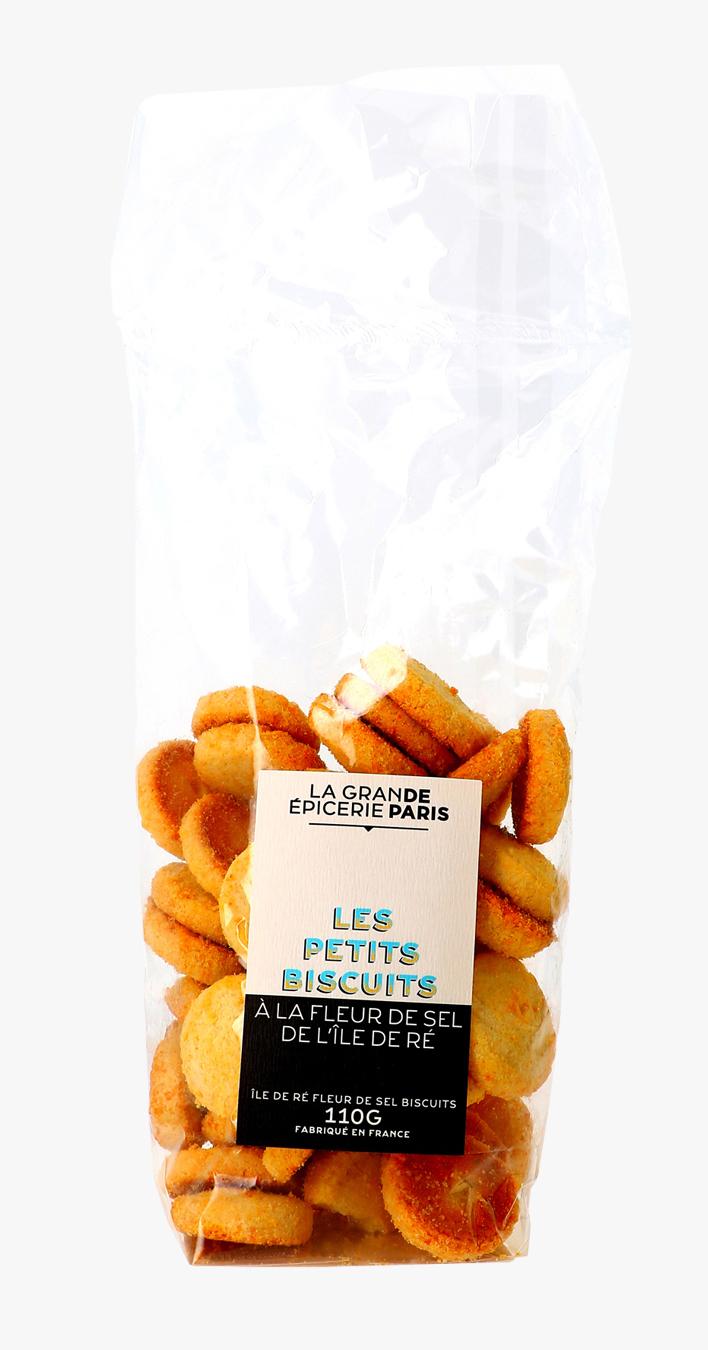 Sablés à la fleur de sel de l'île de Ré, La Grande Epicerie de Paris (110 g)