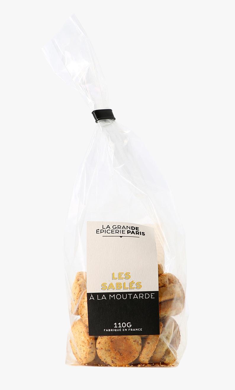 Sablés à la moutarde de Dijon, La Grande Epicerie de Paris (110 g)