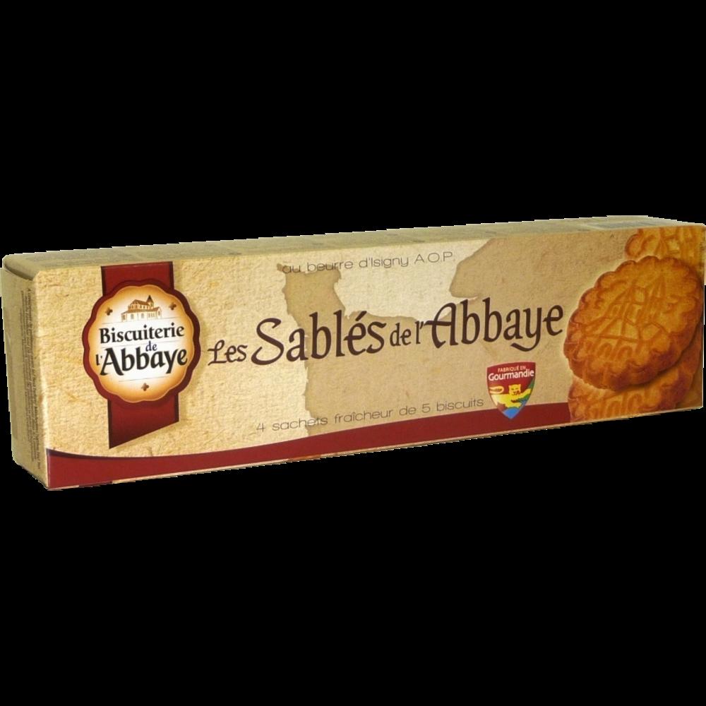 Sablés au beurre, Biscuiterie de l'Abbaye (x 4, 125 g)