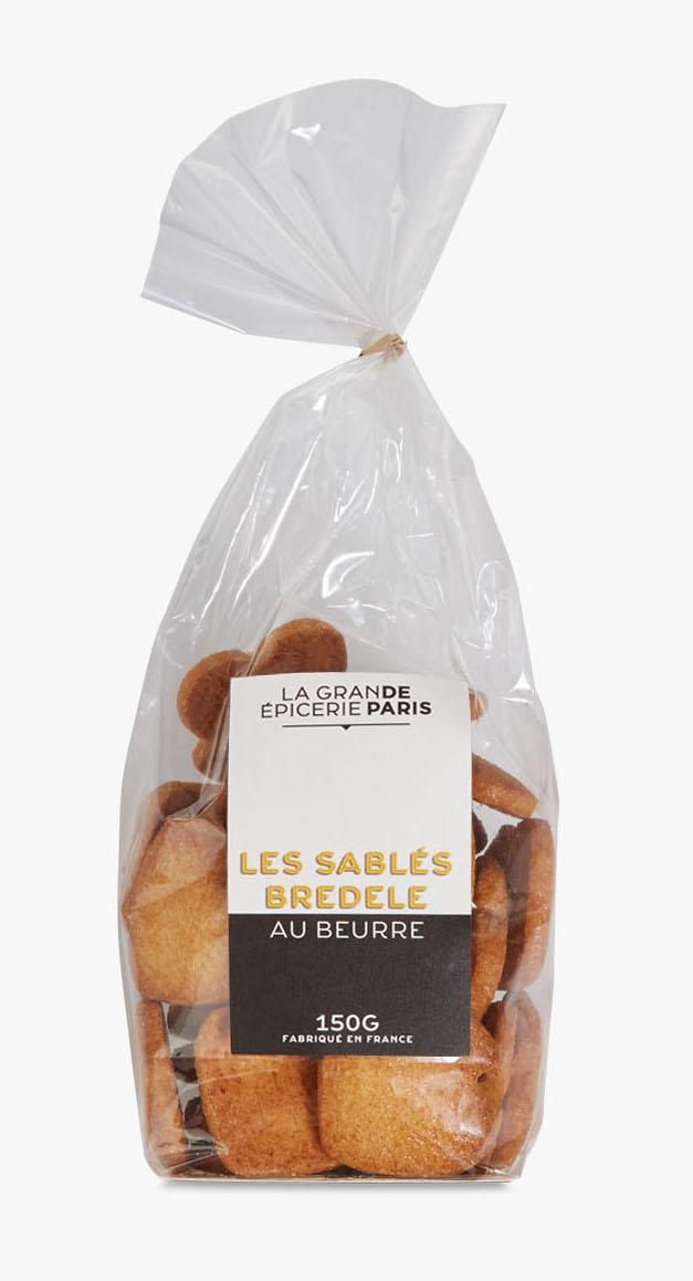 Sablés Bredele au beurre, La Grande Epicerie de Paris (150 g)