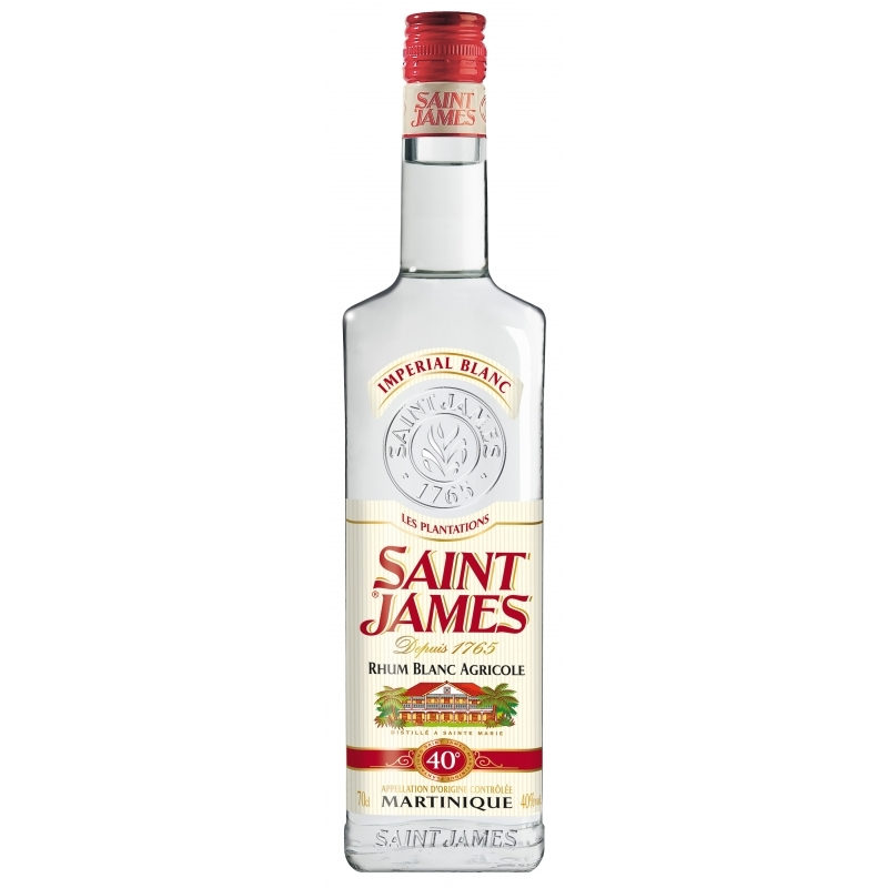 Rhum Saint James Imperial 40° blanc (70 cl)