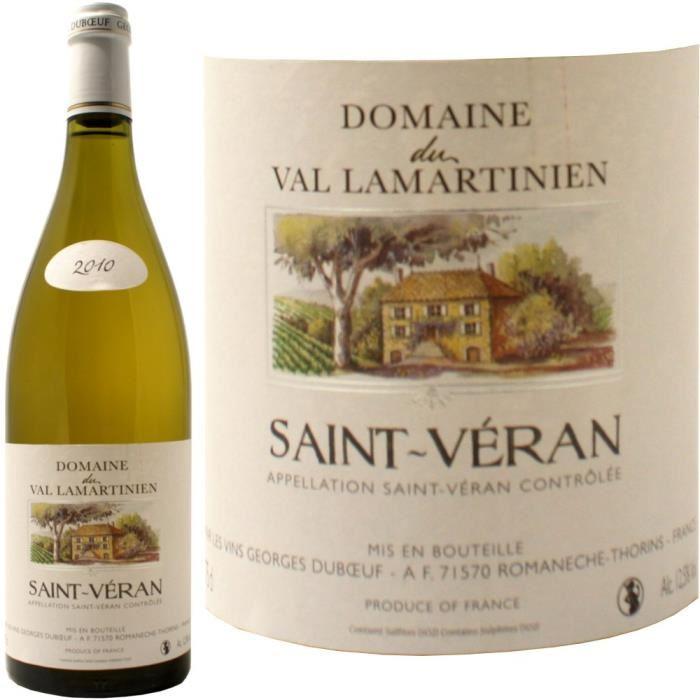 Saint Véran, Vignerons des grandes vignes, Bourgogne (75 cl)