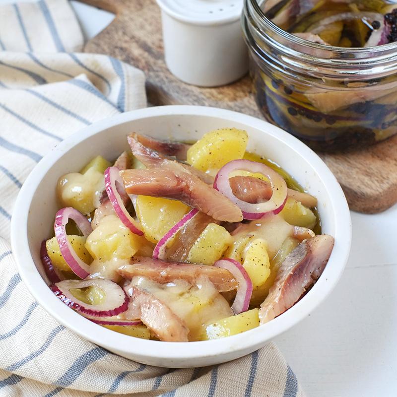 Salade de hareng, pomme de terre (220 g)