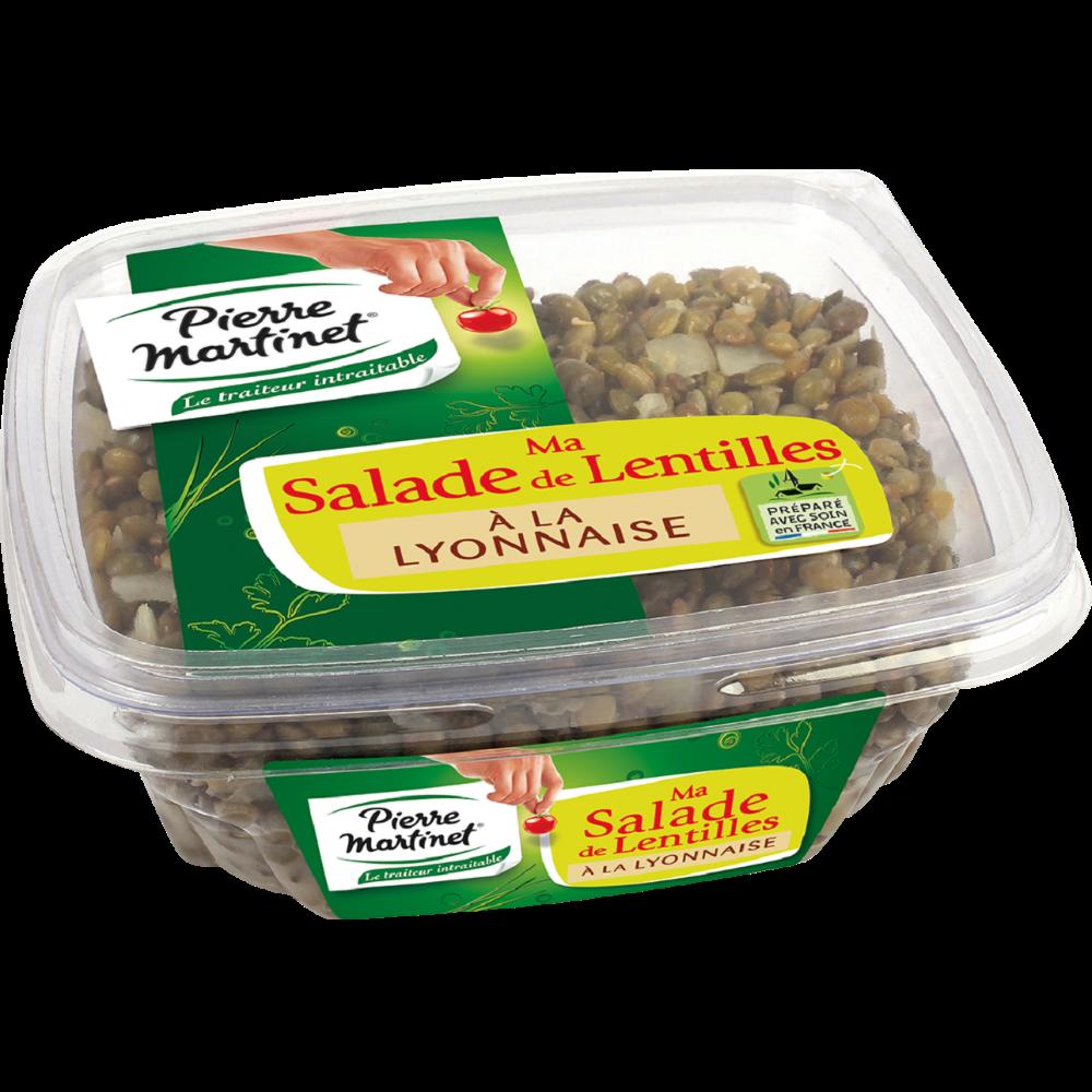 Salade de lentilles à la lyonnaise, Pierre Martinet (300 g)