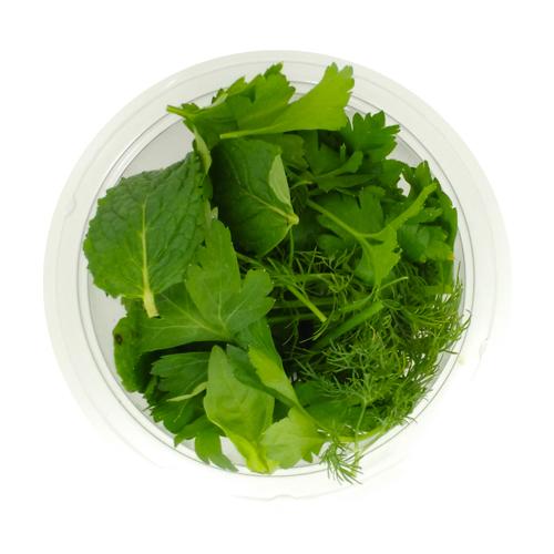 Barquette mélange d'herbes aromatiques