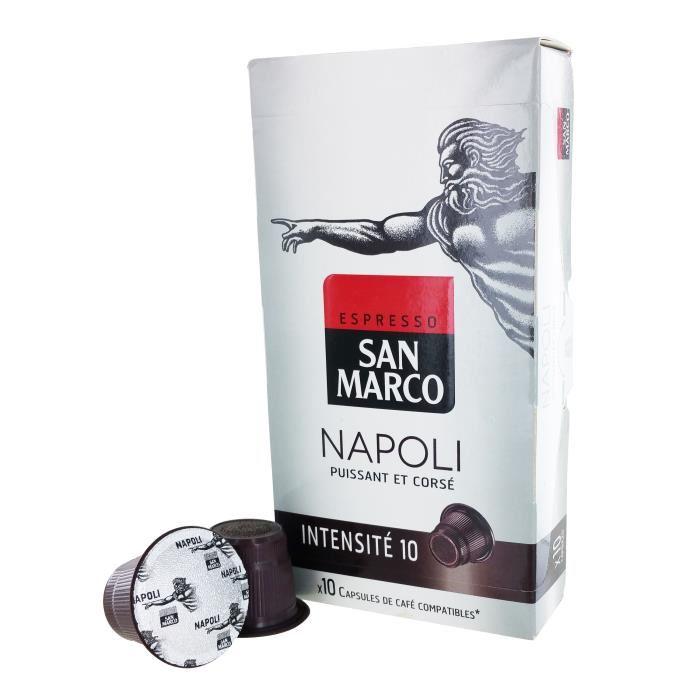 Café capsule Napoli, San Marco (x 10)