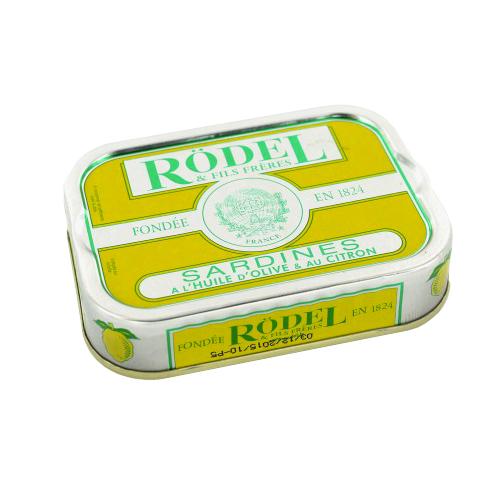 Sardines à l'huile d'olive et au citron Rödel (115 g)
