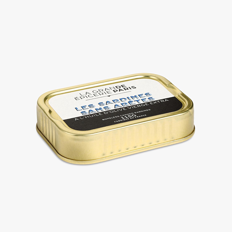 Sardines sans arêtes, La Grande Epicerie de Paris (115 g)
