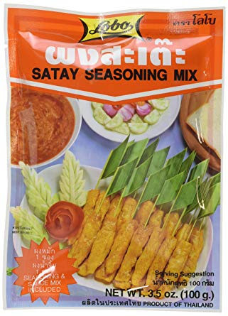 Satay seasoning mix, Lobo (100 g)