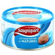 Thon Albacore Naturel, Saupiquet (200 g, 140 g égoutté)