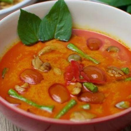 Sauce au curry rouge maison (200 g)