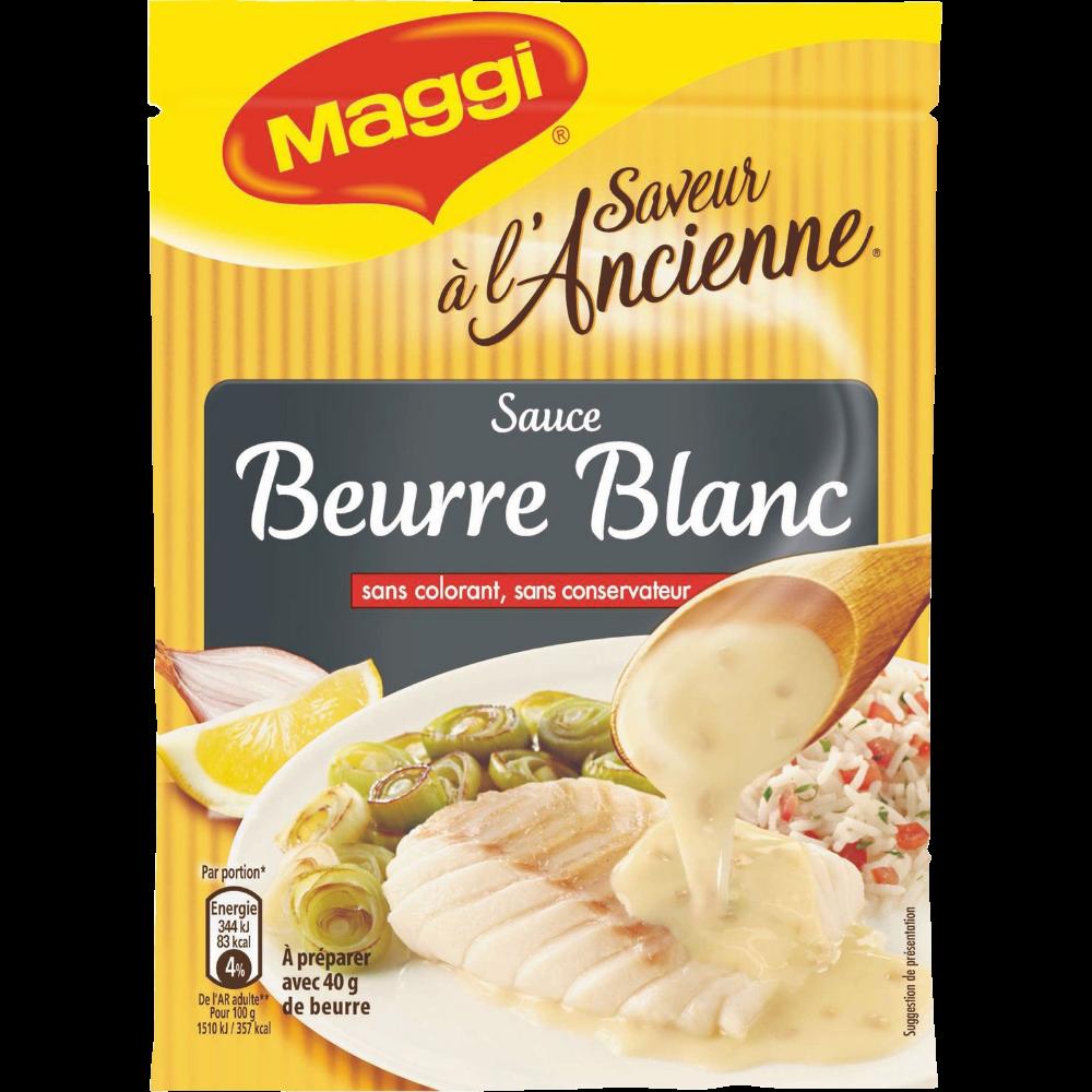 Sauce beurre blanc déshydratée saveur à l'ancienne, Maggi (33 g)
