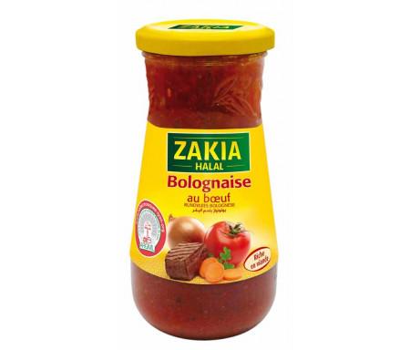 Sauce bolognaise au boeuf Halal, Zakia (400 g)