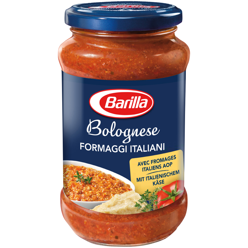Sauce bolognaise fromages italiens, Barilla (400 g)